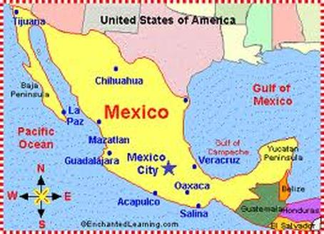 Where Is Mexico Welcome To Mexico - Where is mexico